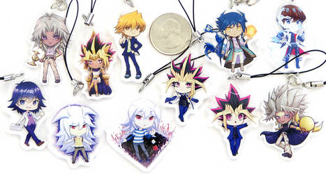 Yugioh charms by Betnawr