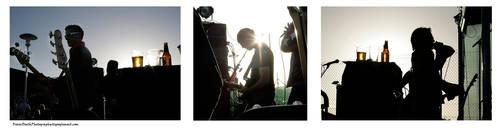 Achtung Baby Triptych by StrawBeth