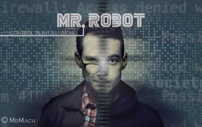 Mr.  Robot Wallpaper by MartinMrmach