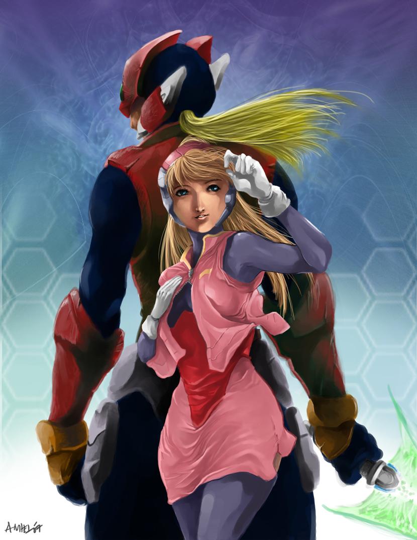 Megaman Zero Forever by alprz
