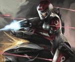 Shepard Welcomes ME2