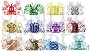 Pixel Gates - Western Zodiac