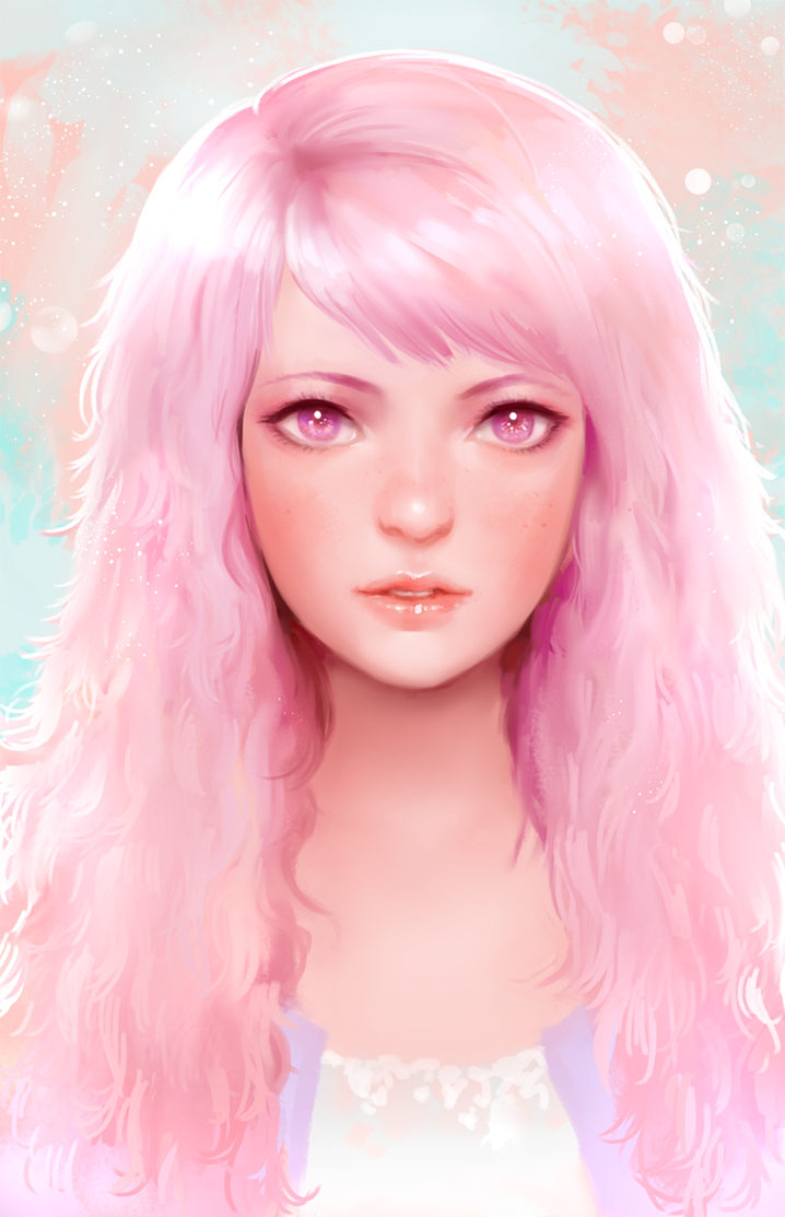Girl Face By Yy6242 On Deviantart