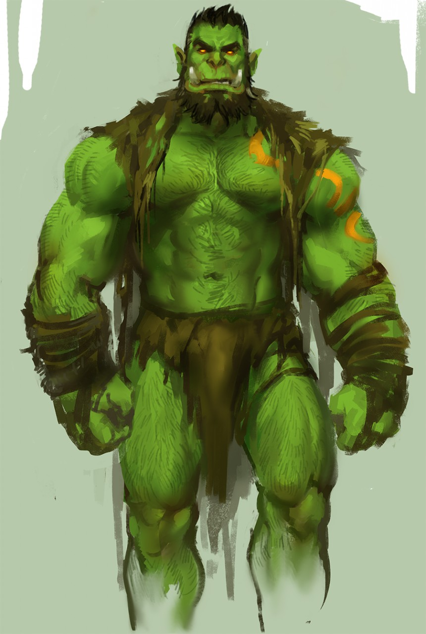 Agree, half orc male naked think, that