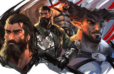 Blackwall and Iron bull
