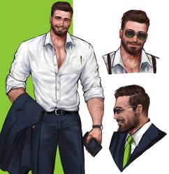 Suit guy 4.