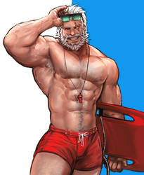Pool party Reinhardt by yy6242