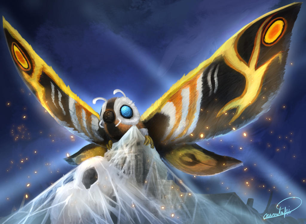 Mothra_1996 by narutakiyu