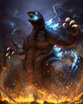 Godzilla 2001 version