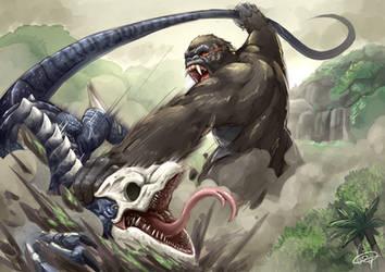 Kong: Skull Island by Inosuke-0101