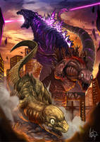 Shin Godzilla by Inosuke-0101