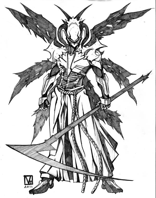 how to draw dragonpriest armour