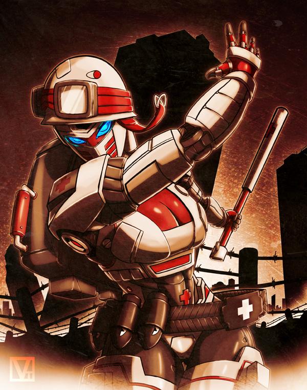 Medic: Batalla by SHADOBOXXER