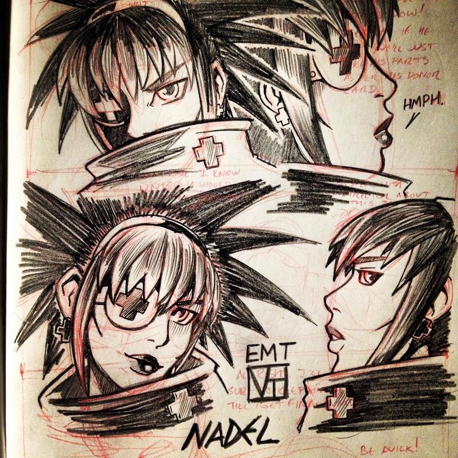 EMT: Nadel Sketch by SHADOBOXXER
