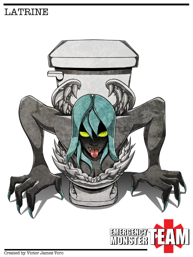 Latrine: Monster Woman by SHADOBOXXER
