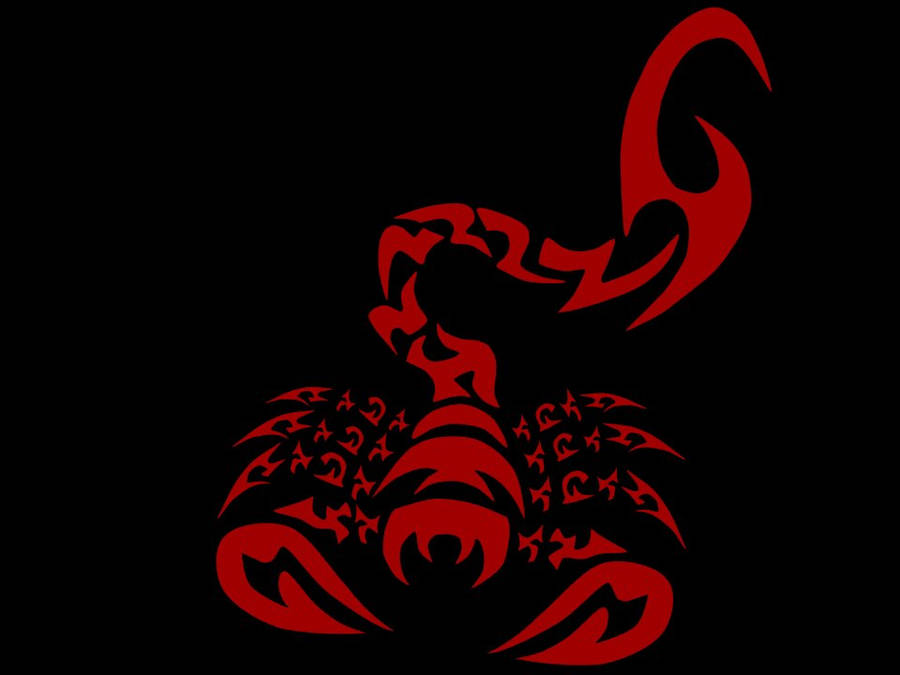 logo scorpion tribal by Vinzarts