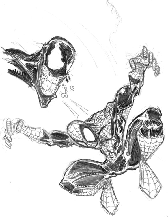 Spiderman A Lapiz By Maestro Efectivo On Deviantart