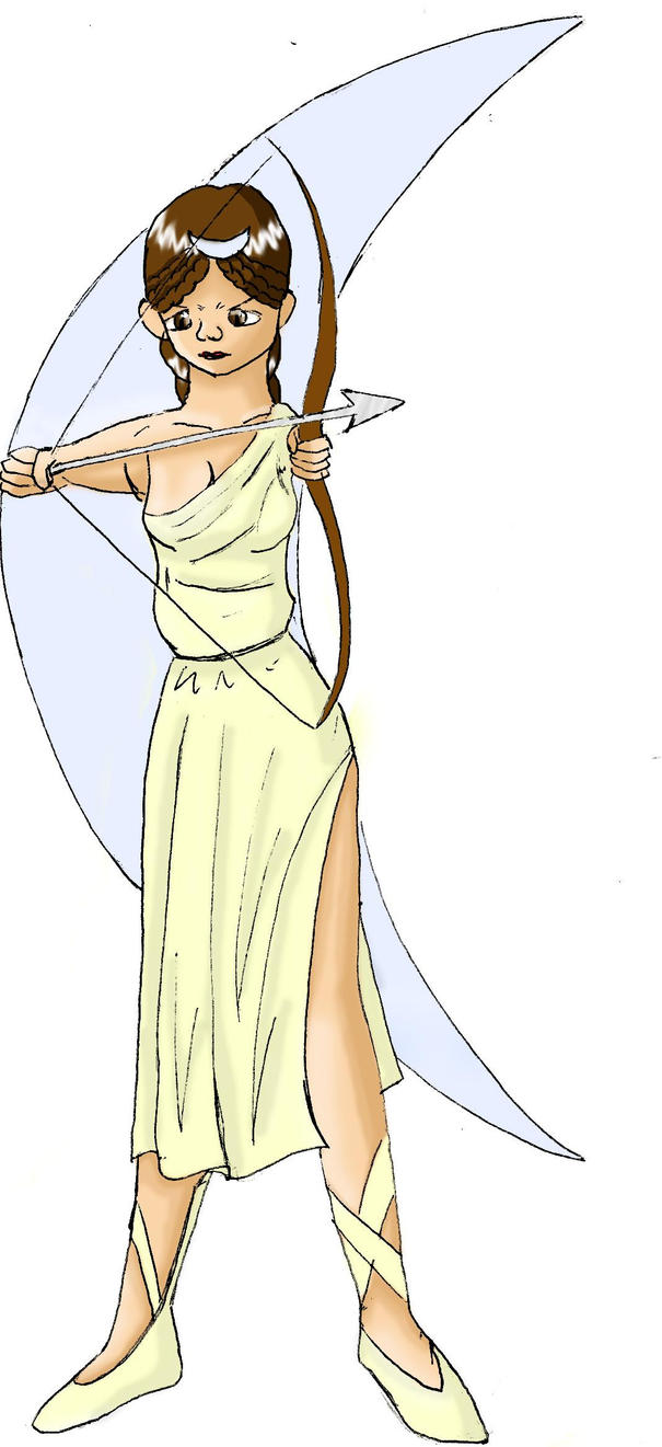 Artemis by chibi-dragon on DeviantArt