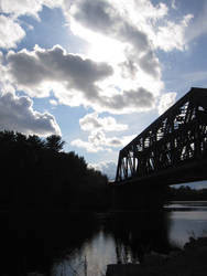 Kenora Train Bridge by Hated-By-Many