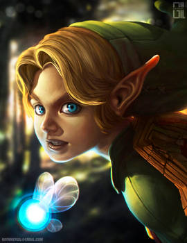 Link - Zelda ocarina of time