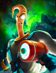 Earthworm Jim by raynnerGIL