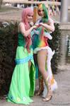 Fluttershy + Rainbow Dash - Sis-Hoof
