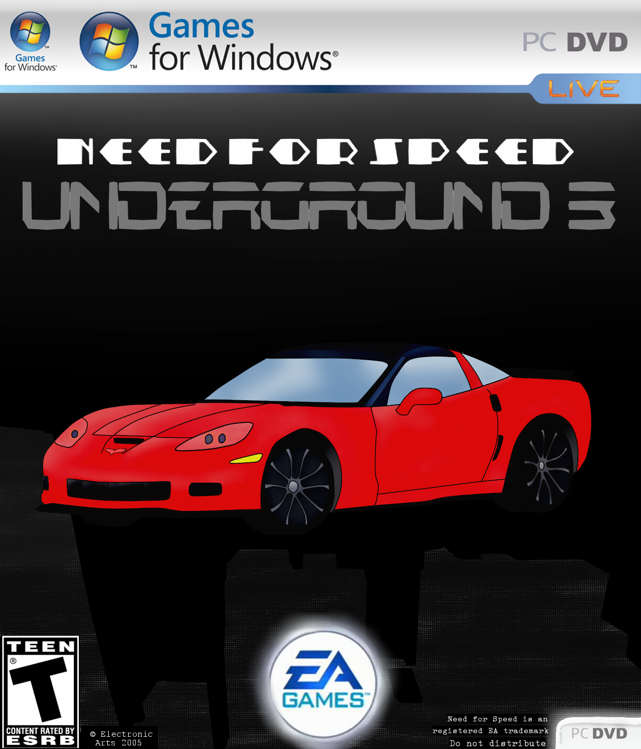 Need For Speed Underground 3 Fan Cover Art By Space Max On Deviantart