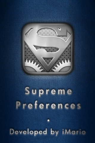 iPhone app splash screen by 3rror404