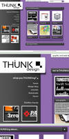 THUNK - Funky fresh web layout by 3rror404