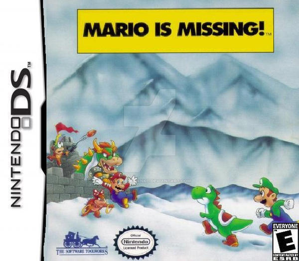 Mario's Missing Nintendo DS by GoldenfrankO