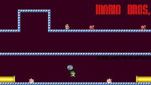 Mario Bros PSP Wallpaper