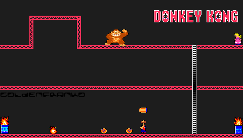 Donkey kong psp wallpaper by goldenfranko on deviantart donkey kong psp wallpaper by goldenfranko voltagebd Image collections