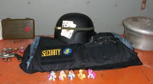 Blackjack's Security Armor (unequipped)
