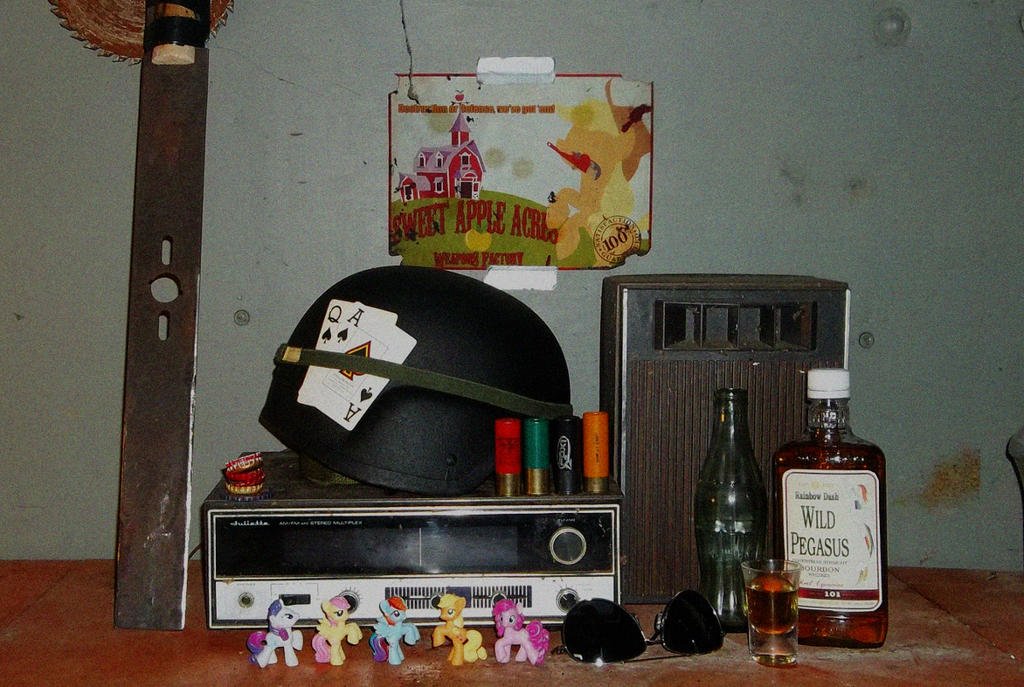 Blackjack's Wasteland Bunker by Ulfhunden