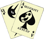 Blackjack's cutie mark corrupted.