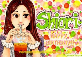 Happy Birthday Shiori by merumeruchan