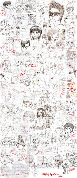 Notebook Doodles Dump