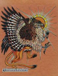 Sun Gryphon by ssantara
