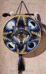 Wolf Raven Shield Drum
