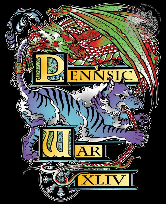 Pennsic War 44 T-shirt by ssantara