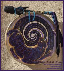 Pacha Ocelotl Drum
