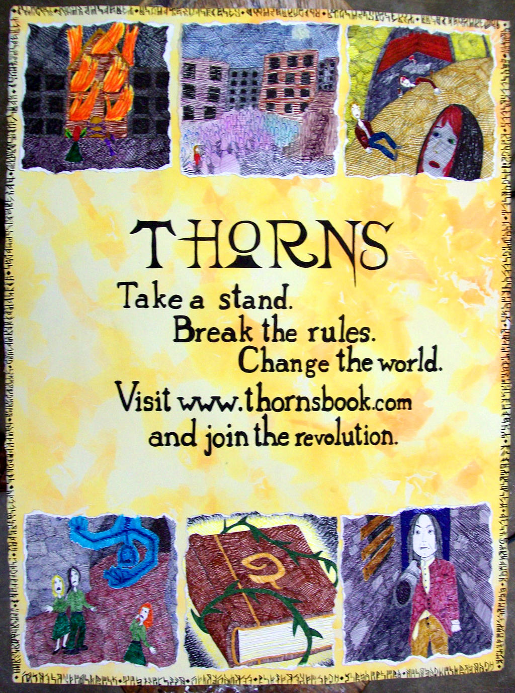 Thorns Promotional Poster by MyLaundryStinks