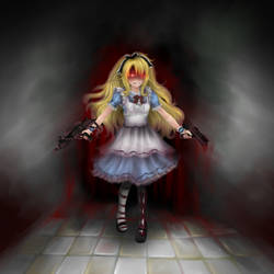 Bloody Alice by Ucchiii