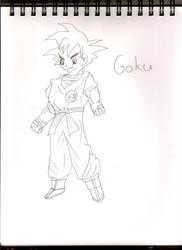 Goku by randomness113