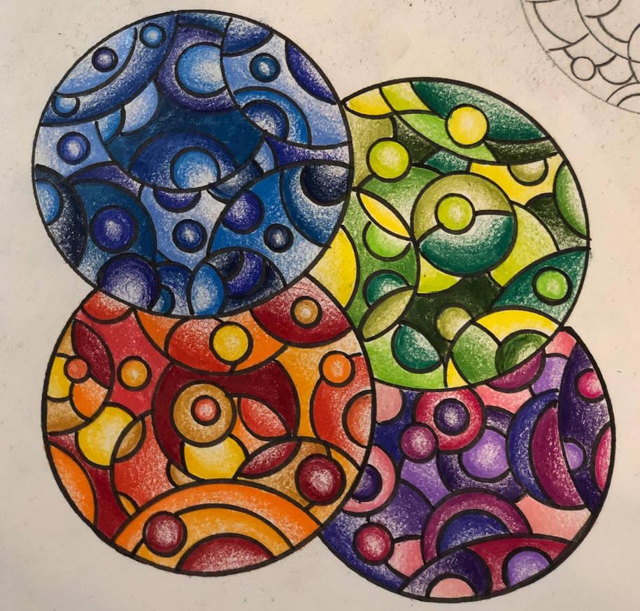 Colourful Spheres  by Enerdyte