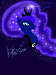 Princess Luna Quick Little Drawing