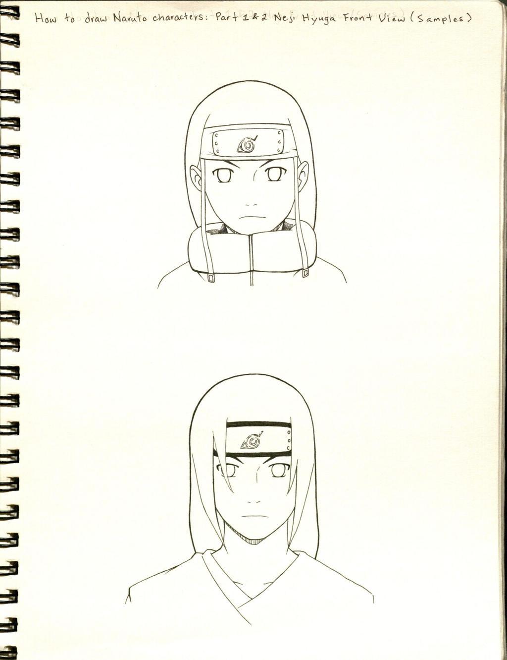 How to draw naruto characters sample 1 by byakusharingan1017 on