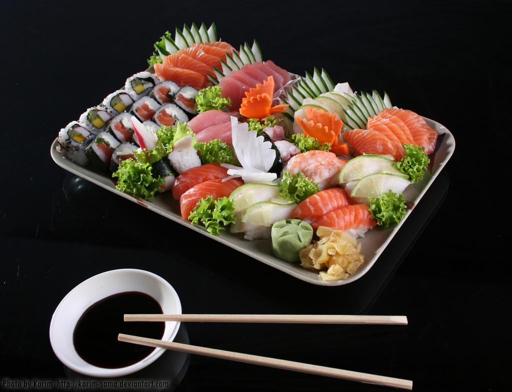 Japanese Food by Karim-sama
