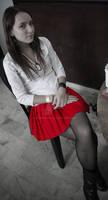 Nathasha's Red Skirt