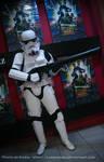Storm Trooper At Clone Wars